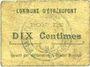 Banknoten Etréaupont (02). Commune. Billet. 10 centimes