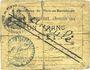 Banknoten Flers-en-Escrébieux (59). Commune. Billet. 1 franc, émission 1914, annulation manuscrite