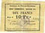 Banknoten Flers-en-Escrébieux (59). Commune. Billet. 10 francs, émission 1914, série K
