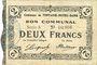 Banknoten Fontaine-Notre-Dame (59). Commune. Billet. 2 francs 16.12.1915, série A