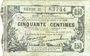 Banknoten Fourmies (59). Bon Régional Nord, Aisne et Oise. Billet. 50 cmes 8.5.1916, série 21