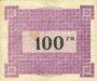 Banknoten Ham, Noyon & Saint-Simon (80). Union des Communes. Billet. 100 francs