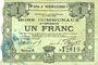 Banknoten Hénin-Liétard (62). Ville. Billet. 1 franc 6.3.1916, série A