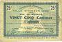 Banknoten Hirson (02). Ville. Billet. 25 centimes 28.1.1915