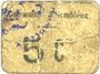 Banknoten Hombleux (80). Commune. Billet. 5 centimes