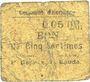 Banknoten Hornaing (59). Commune. Billet. 5 centimes