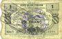 Banknoten Houdain (Houdain-les-Bavay) (59). Pour les Maires des Communes adhérentes. Billet. 1 franc, série 5