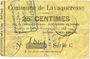 Banknoten Lavaqueresse (02). Commune. Billet. 25 centimes 15.6.1915, série C