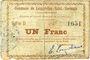 Banknoten Lesquielles-Saint-Germain (02). Commune. Billet. 1 franc 20.6.1915, série D