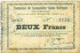 Banknoten Lesquielles-Saint-Germain (02). Commune. Billet. 2 francs 11.7.1915, série E