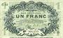 Banknoten Lille (59). Ville. Billet. 1 franc 15.12.1917, série G