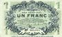 Banknoten Lille (59). Ville. Billet. 1 franc 15.12.1917, série P
