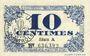 Banknoten Lille (59). Ville. Billet. 10 cmes 31.10.1917, série A
