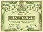 Banknoten Lille (59). Ville. Billet. 10 francs 31.8.1914, série D