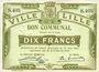 Banknoten Lille (59). Ville. Billet. 10 francs 31.8.1914, série S