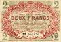 Banknoten Lille (59). Ville. Billet. 2 francs 15.12.1917, série I