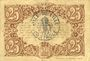 Banknoten Lille (59). Ville. Billet. 25 cmes 13.7.1917, série Y