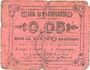 Banknoten Marchiennes (59). Ville. Billet. 5 centimes. Carton rose