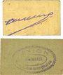 Banknoten Marmande (47). Union des Commerçants. Billets. 5 centimes 1918, 10 centimes