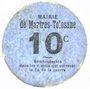Banknoten Martres-Tolosane (31). Mairie. Billet. 10 centimes