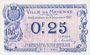Banknoten Mayenne (53). Ville. Billet. 25 centimes 8.12.1917
