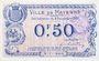 Banknoten Mayenne (53). Ville. Billet. 50 centimes 8.12.1917