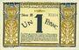 Banknoten Nice (06). Chambre de Commerce. Billet. 1 franc 25.4.1917, série 31