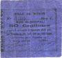 Banknoten Noyon (60). Ville. Billet. 50 centimes 17.12.1915