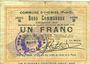 Banknoten Oignies (62). Commune. Billet. 1 franc 30.8.1914, série B