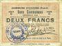 Banknoten Oignies (62). Commune. Billet. 2 francs 30.8.1914, série C