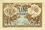 Banknoten Paris (75). Chambre de Commerce. Billet. 1 franc 10.3.1920, série A.28