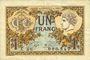 Banknoten Paris (75). Chambre de Commerce. Billet. 1 franc 10.3.1920, série A.80