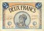 Banknoten Paris (75). Chambre de Commerce. Billet. 2 francs 10.3.1920, série A.23