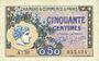 Banknoten Paris (75). Chambre de Commerce. Billet. 50 centimes 10.3.1920, série A.30