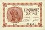 Banknoten Paris (75). Chambre de Commerce. Billet. 50 centimes 10.3.1920, série B.31