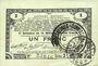 Banknoten Pas de Calais, Somme et Nord, Groupement de 70 communes. Billet. 1 franc 23.4.1915 série 2I