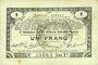 Banknoten Pas de Calais, Somme et Nord, Groupement de 70 communes. Billet. 1 franc 23.4.1915 série 2K