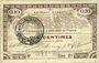 Banknoten Pas de Calais, Somme et Nord, Groupement de 70 communes. Billet. 10 centimes 23.4.1915 série 9D