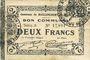 Banknoten Raillencourt-Ste-Olle (59). Commune. Billet. 2 francs 16.12.1915, série A