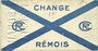 Banknoten Reims (51). Change Rémois. Billet. 25 centimes août 1914