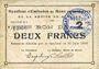 Banknoten Rimogne (08). Syndicat d'Emission. Billet. 2 francs 30.6.1916, série J 1