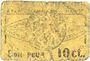 Banknoten Roanne (42). Etablissements L. Marot. Laiterie du Forez. Billet. 10 centimes