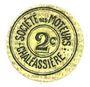 Banknoten Saint-Etienne (42). Chaléassière. Société des Moteurs. Billet. 2 centimes 31.12.1920