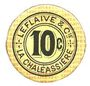 Banknoten Saint-Etienne (42). La Chaléassière. Le Flaive et Cie. Billet. 10 centimes 31.12.1917