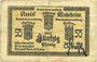 Banknoten Schirmeck. Ville. Billet. 50 pfennig 7.1918. Petit cachet communal