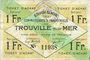 Banknoten Trouville (14). Syndicat Général des Commerçants et Industriels. Billet. 1 franc