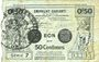 Banknoten Valenciennes (59). Emprunt Communes. Billet. 50 centimes, série 7