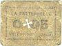 Banknoten Valentigney (25). La Fraternelle. Billet. 0,05