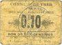 Banknoten Vred (59). Commune. 10 centimes 1915