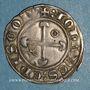 Münzen Dauphiné. Evêché de Valence et Die. Jean de Genève (1285-1297). Gros